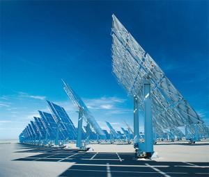 Развитие электростанций на солнечных батареях